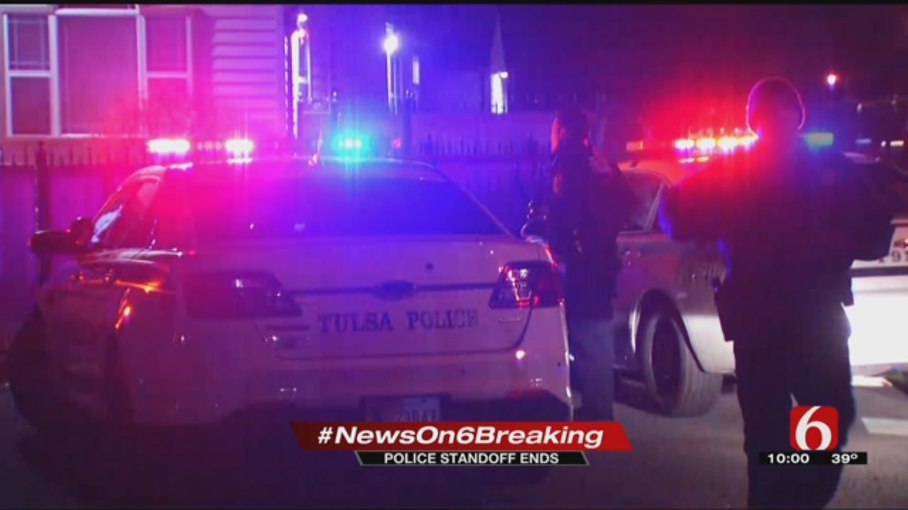 Suspect In Custody Following Standoff In Midtown Tulsa
