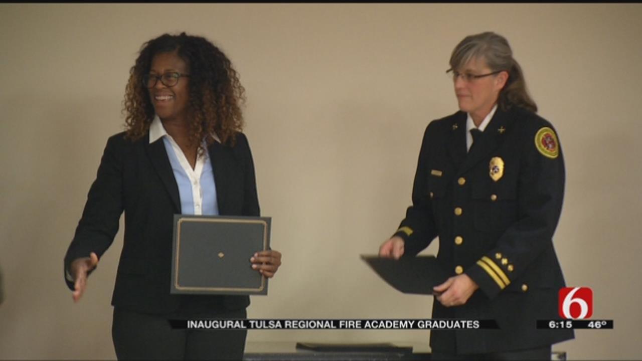 15 Students Graduate Tulsa Regional Fire Academy