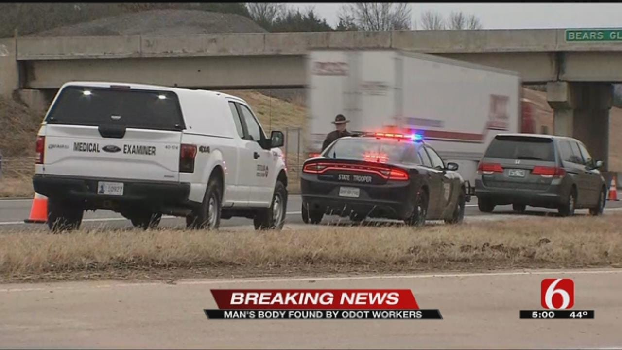 ODOT Crews Find Body In Pawnee County