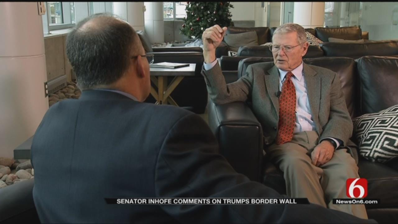 Senator Jim Inhofe Talks About Immigration, 'The Wall'