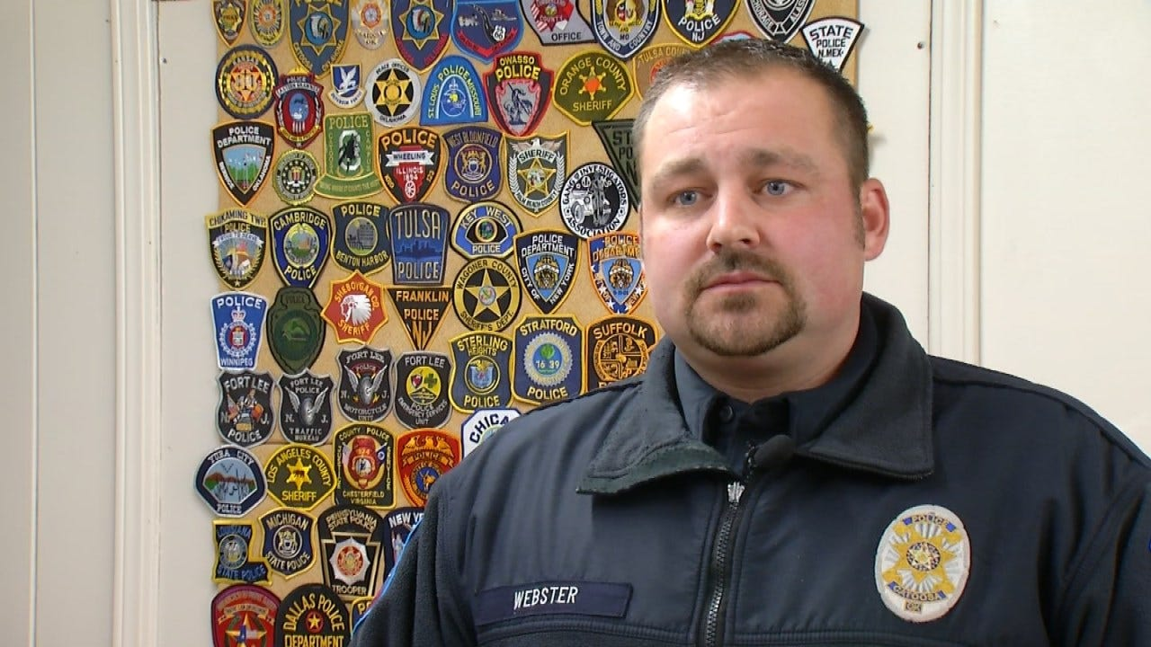 Catoosa Officer Awarded Medal Of Valor For Saving Man's Life