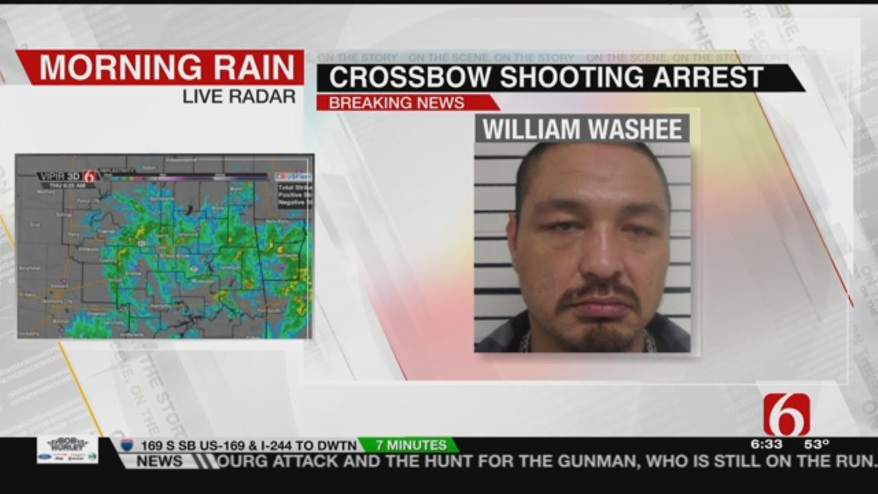 Deputies Make Arrest In Cherokee County Crossbow Shooting