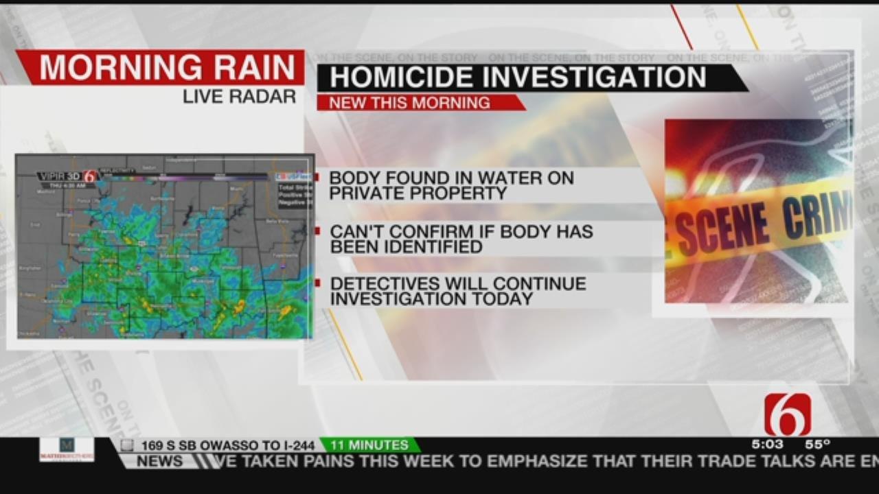 Ottawa County Homicide Investigation