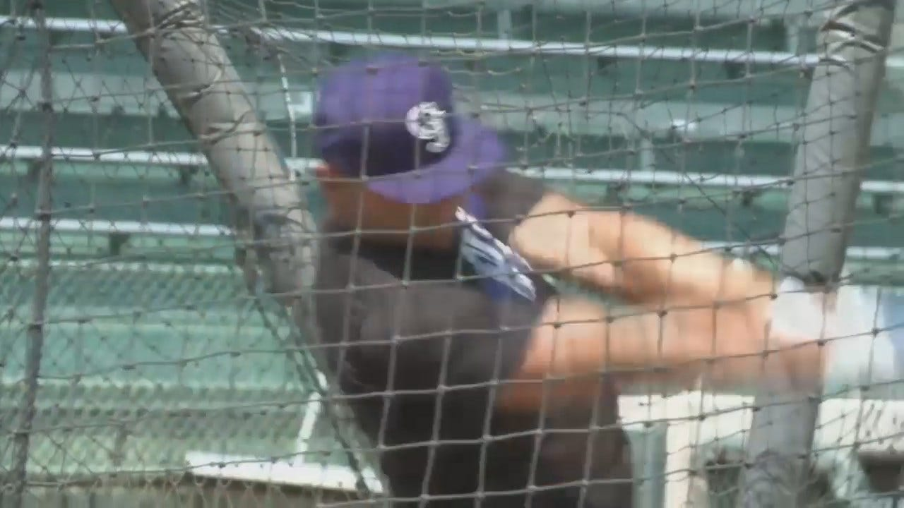 Video Of Oklahoma Baseball Great Matt Holliday