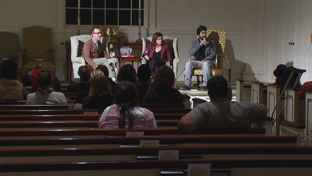Author Discusses Hate With Tulsa Murder Victim's Family