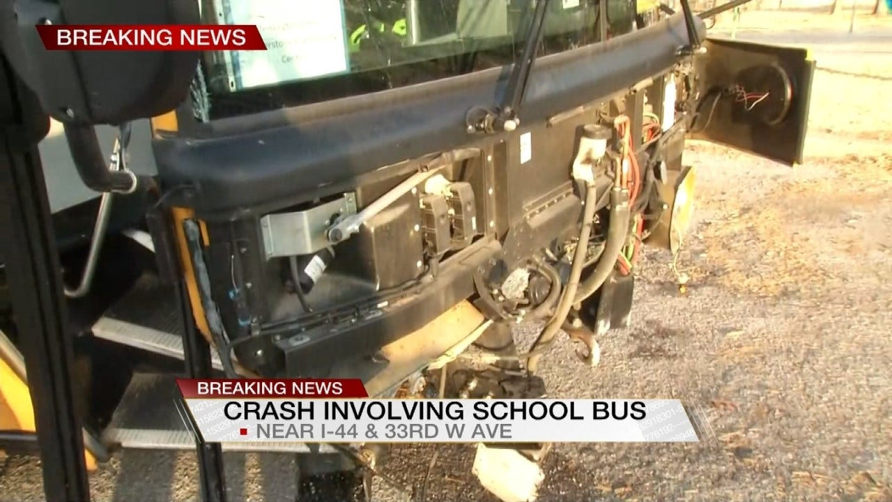 Tess Maune Reports From Scene Of Tulsa Public School Crash