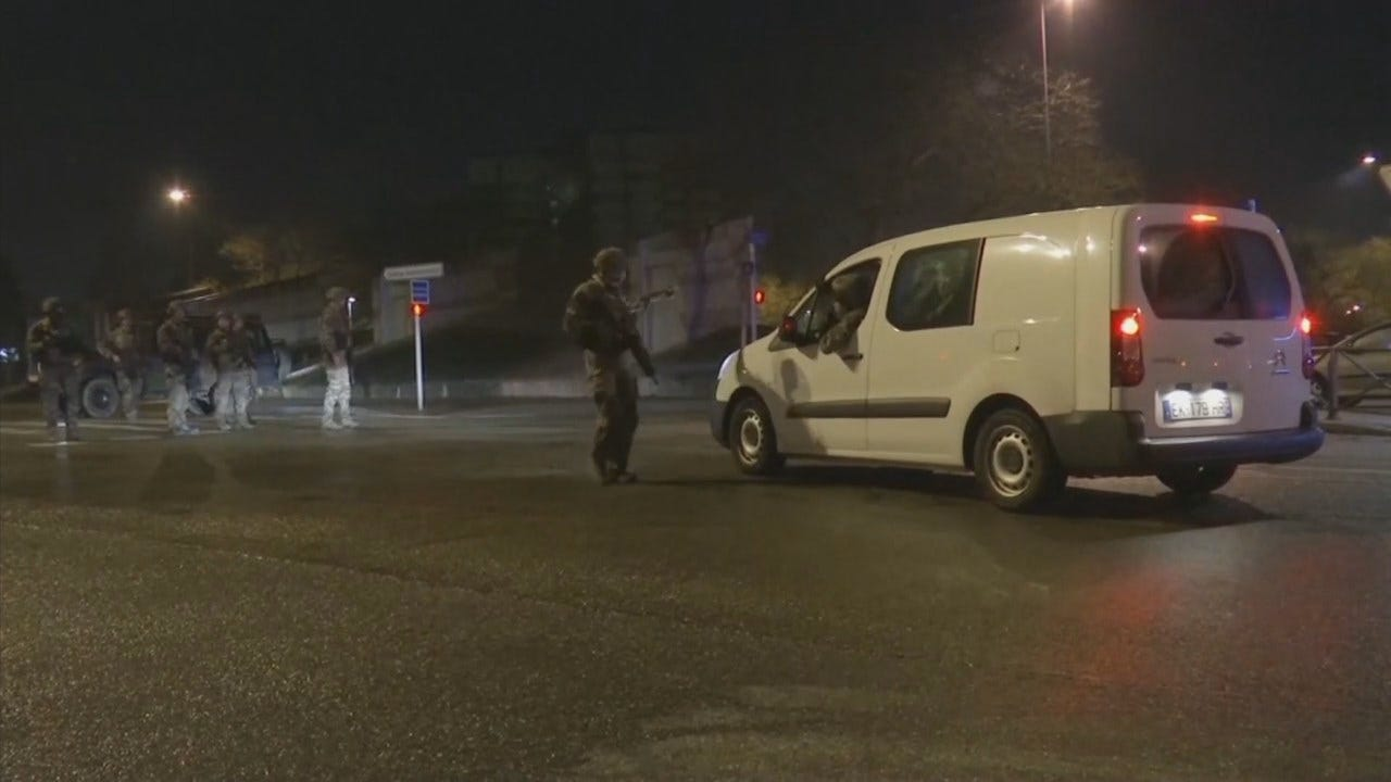 Watch: Scene Of Fatal Shooting In Strasbourg, France