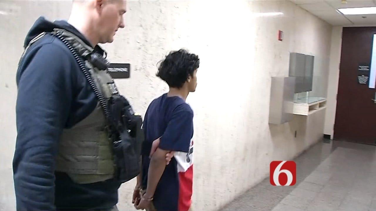 WATCH: Suspect In Custody In 15-Year-Old Tulsa Girl's Death