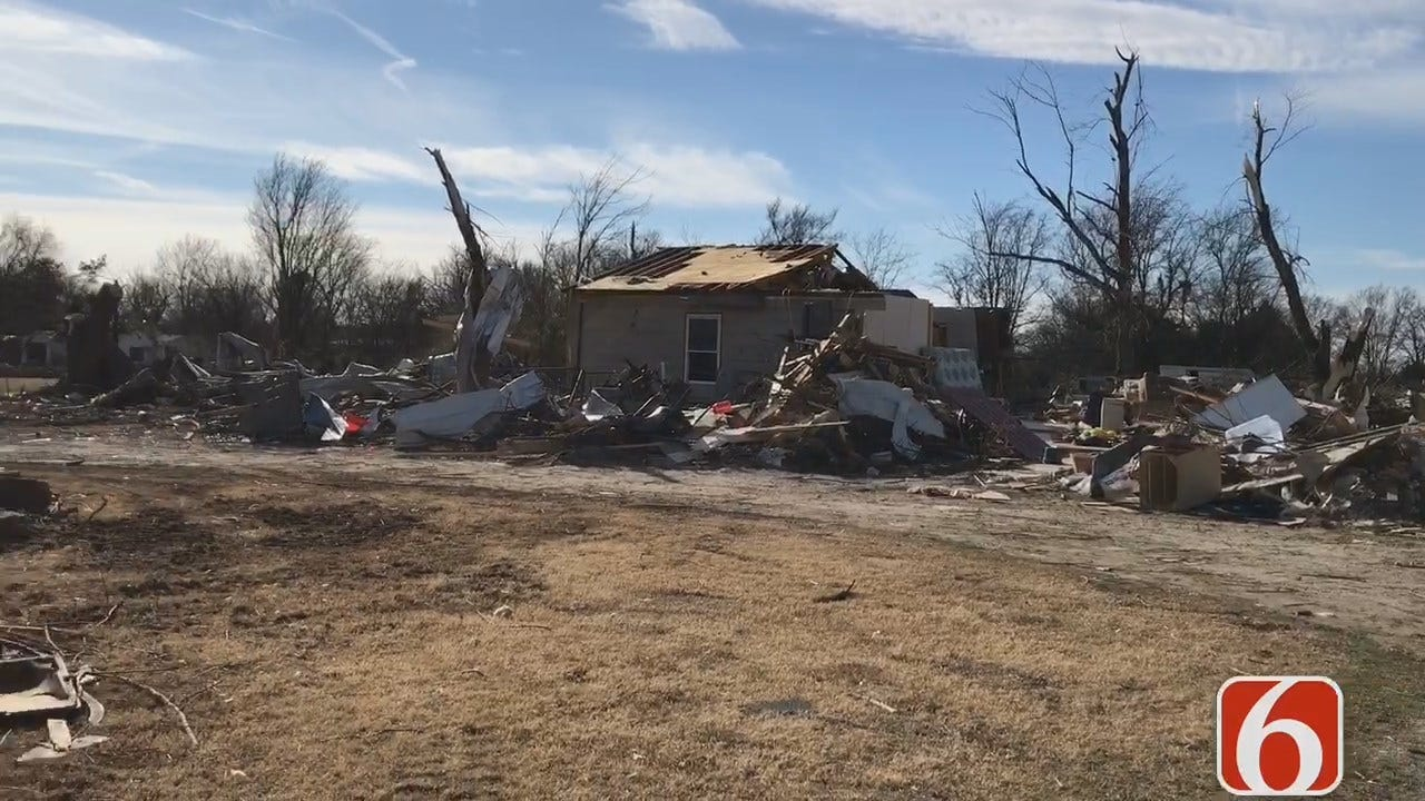 Oklahoma Business Loses Building To Fire After November Tornado
