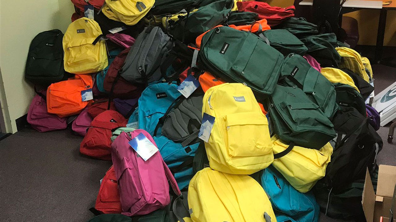250 Backpacks Filled With Winter Gear Given To Tulsa Homeless