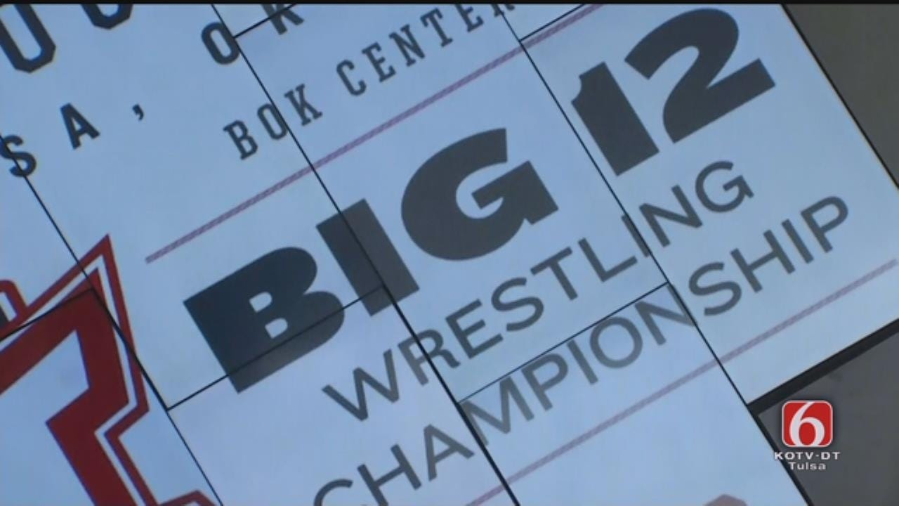 Big 12 Wrestling Championship News Conference