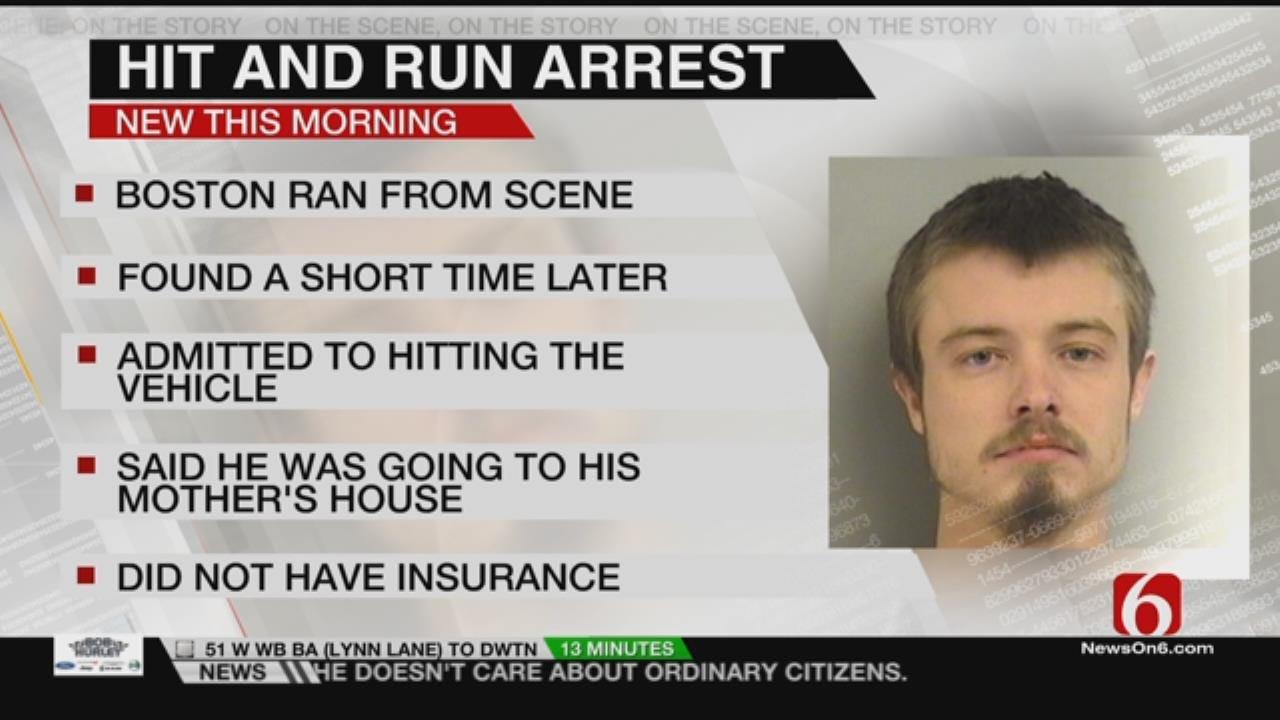 Joseph Holloway Reports On Kevin Boston's Hit & Run Arrest