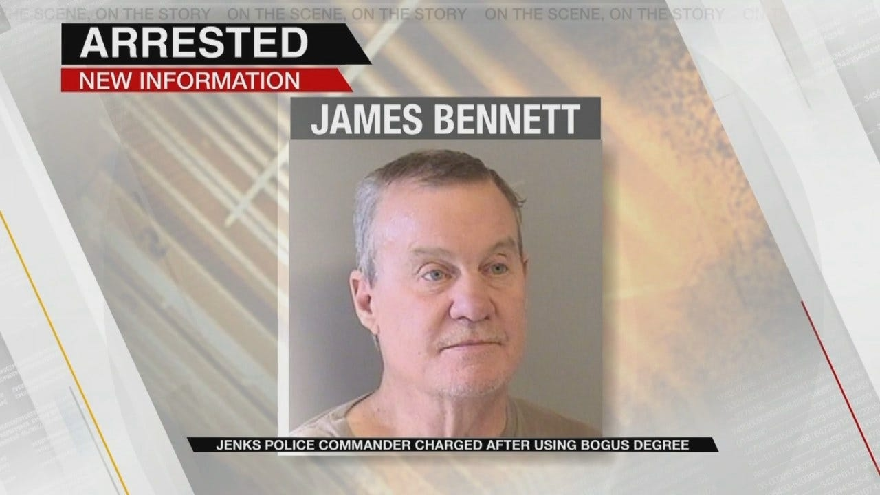 Jenks Police Officer Accused Of Using Fake Degree To Get Pay Raise