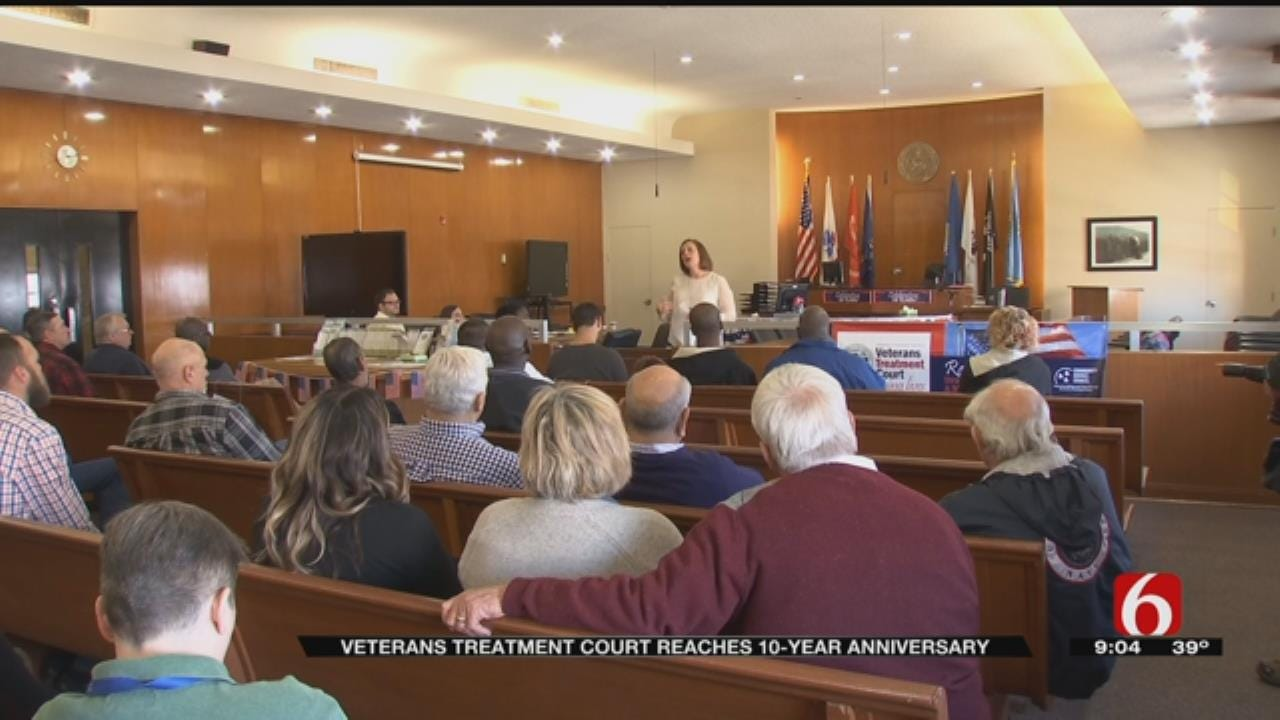 Veterans Treatment Court Marks Its 10th Anniversary In Tulsa County