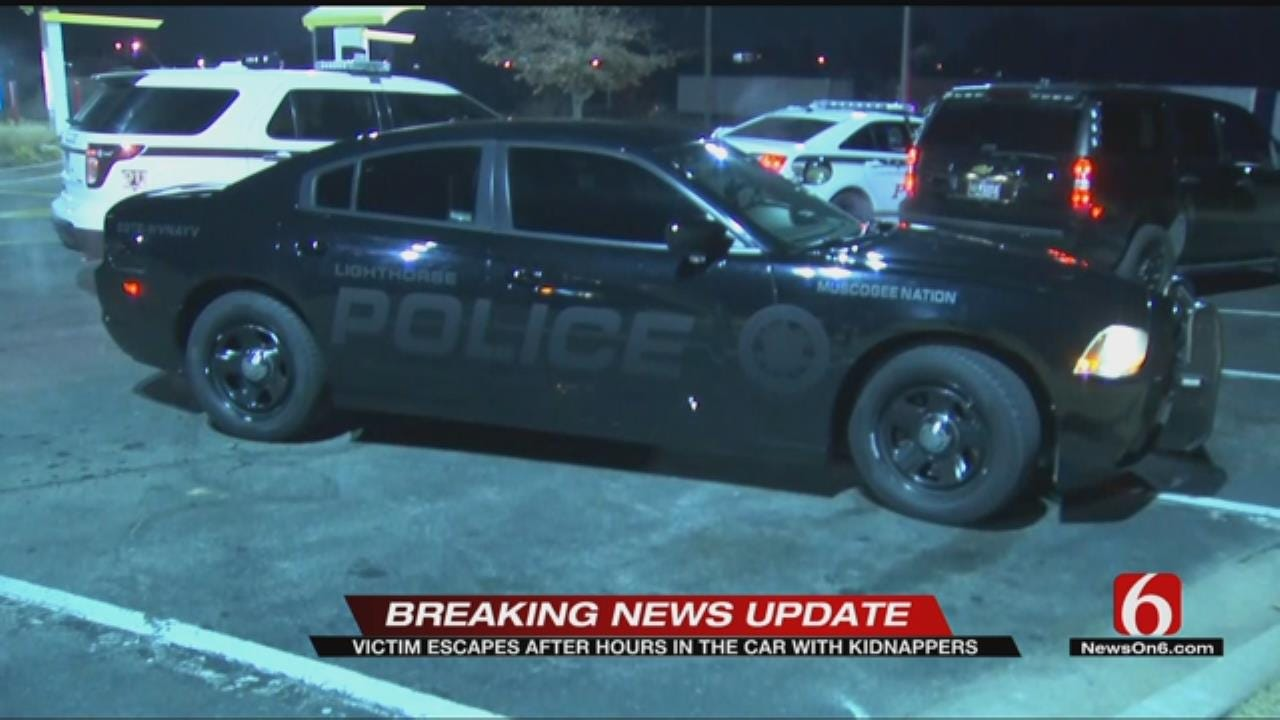 Tulsa Police: 2 Arrested After Carjacking And Chase