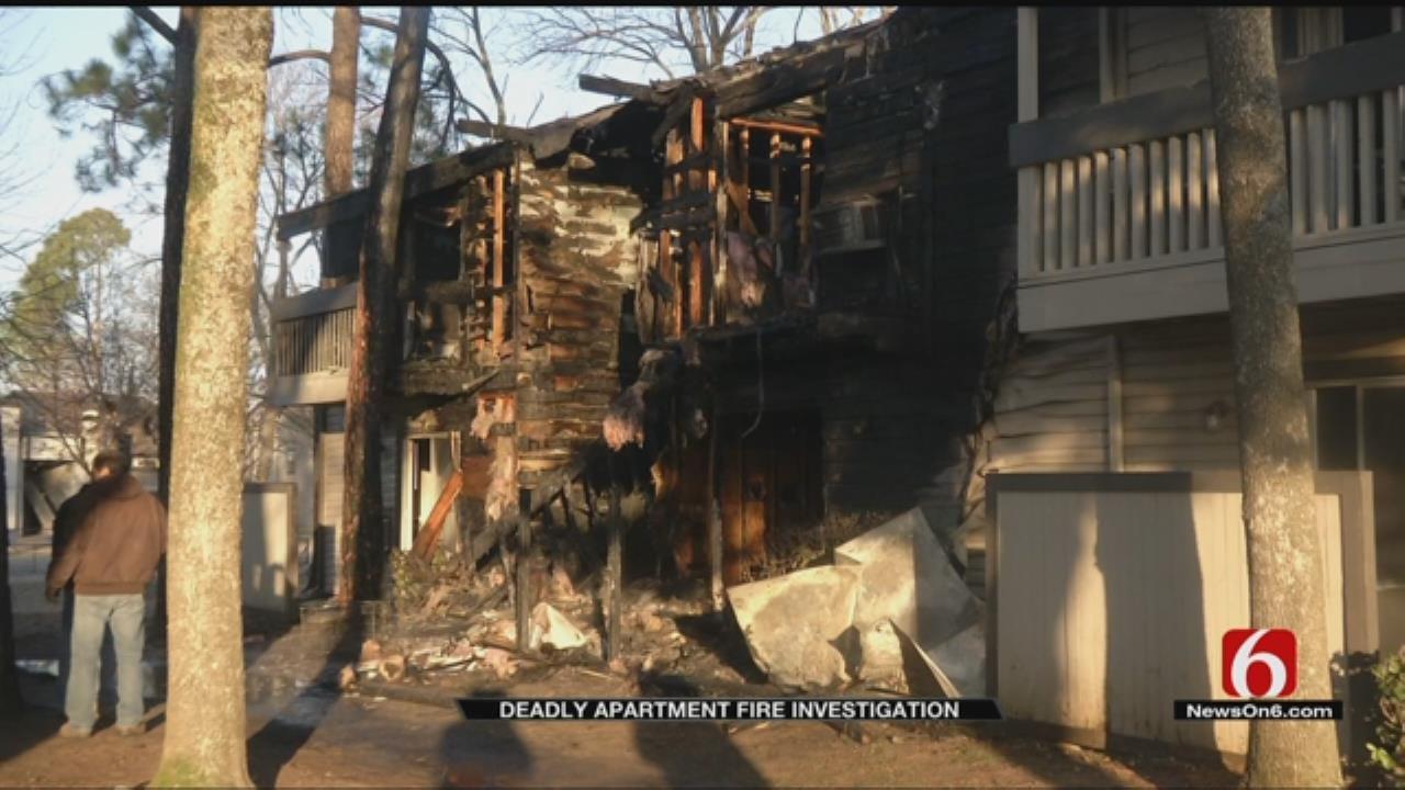 1 Dead In Tulsa Apartment Fire