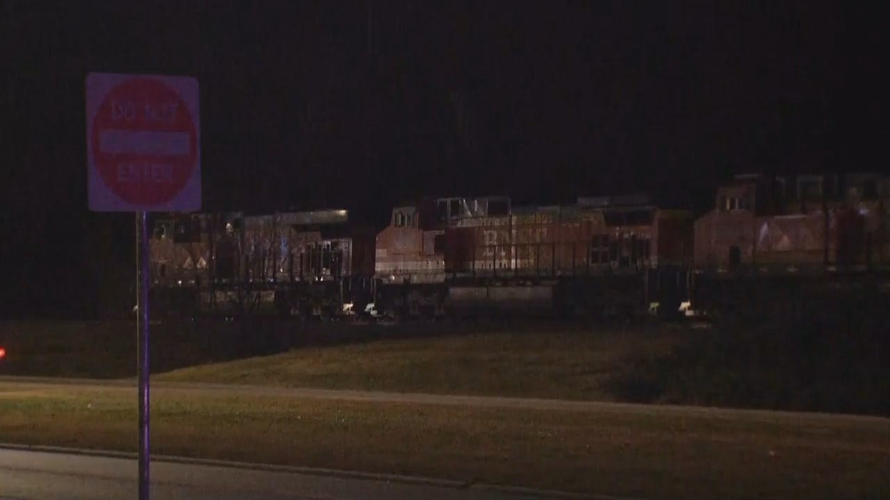 Video From Claremore Train Incident On Sunday, December 9th