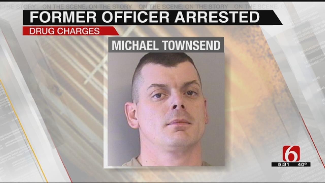 Former Sperry Police Officer Arrested On Drug Charges