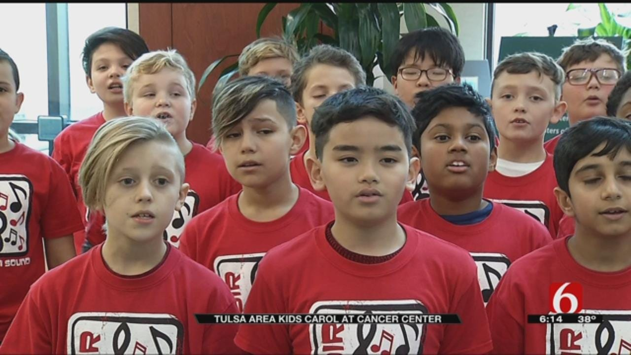 Tulsa Kids Lift Spirits At Cancer Treatment Centers Of America
