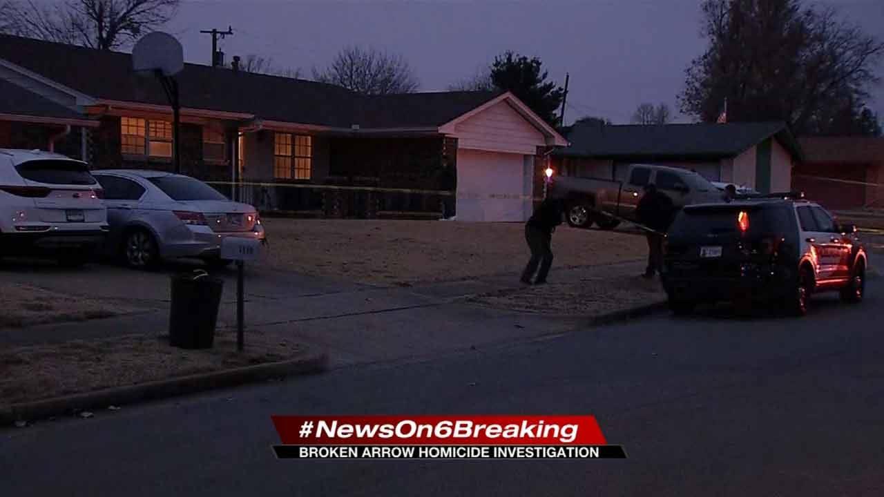Man Dead, Son In Custody In Broken Arrow Homicide Investigation
