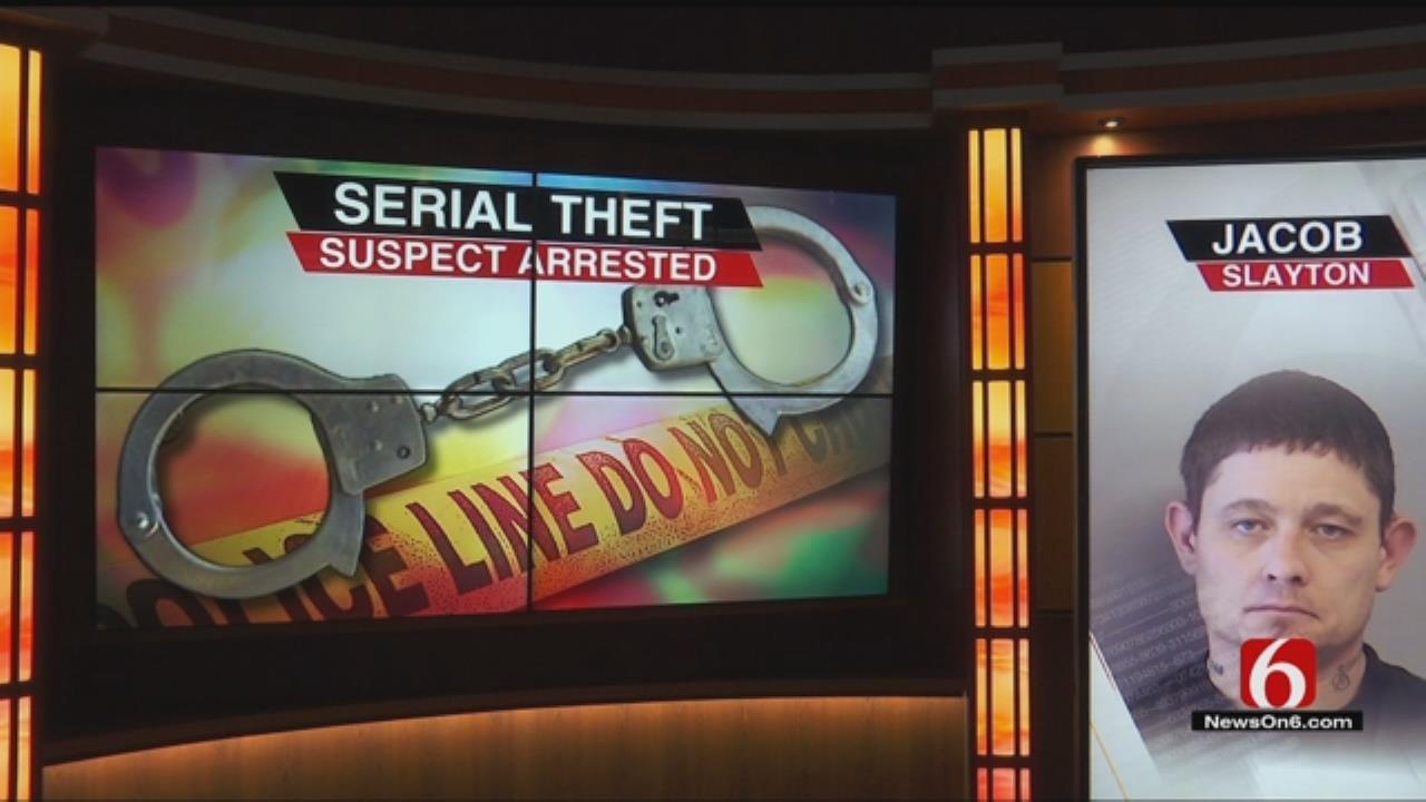 Police Arrest Serial Thief Suspect