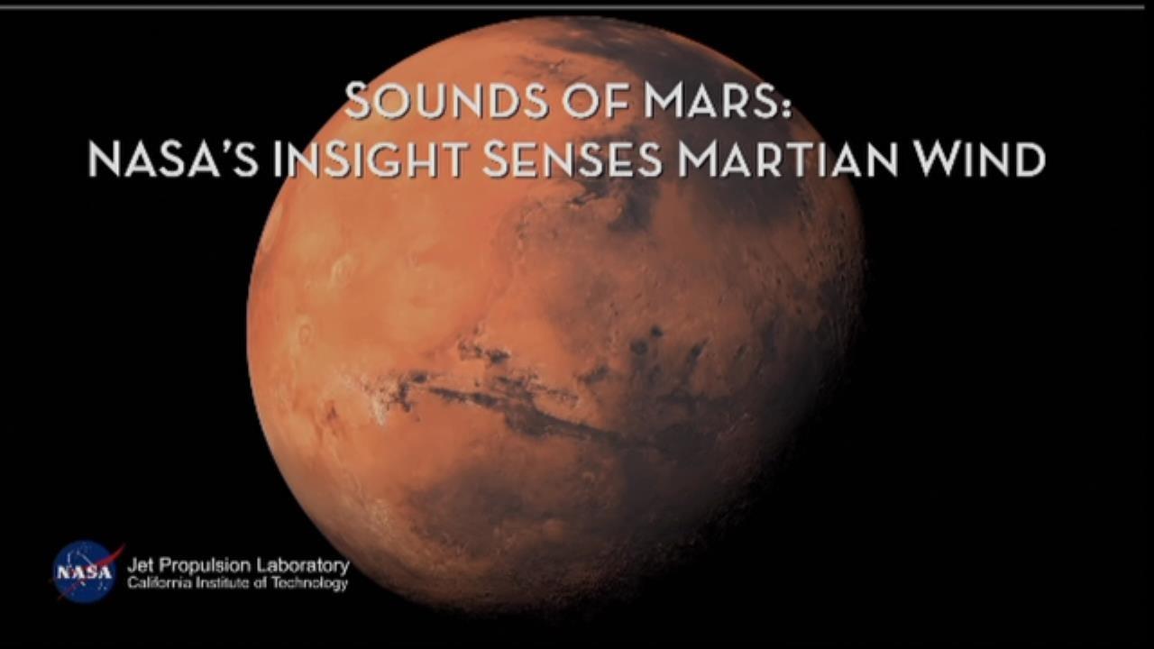 NASA InSight Probe Records Audio Of Wind On Mars