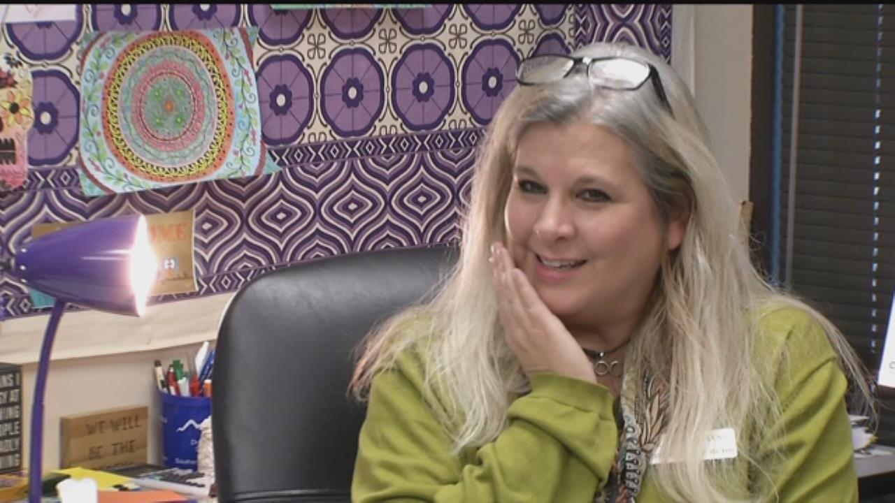 Union Alternative School Educator Honored As Impactful Teacher