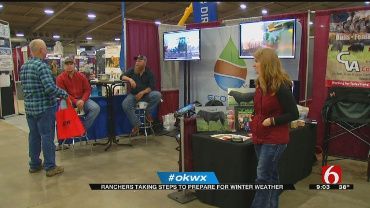 Oklahoma Ranchers Face Challenge Of Cold Weather