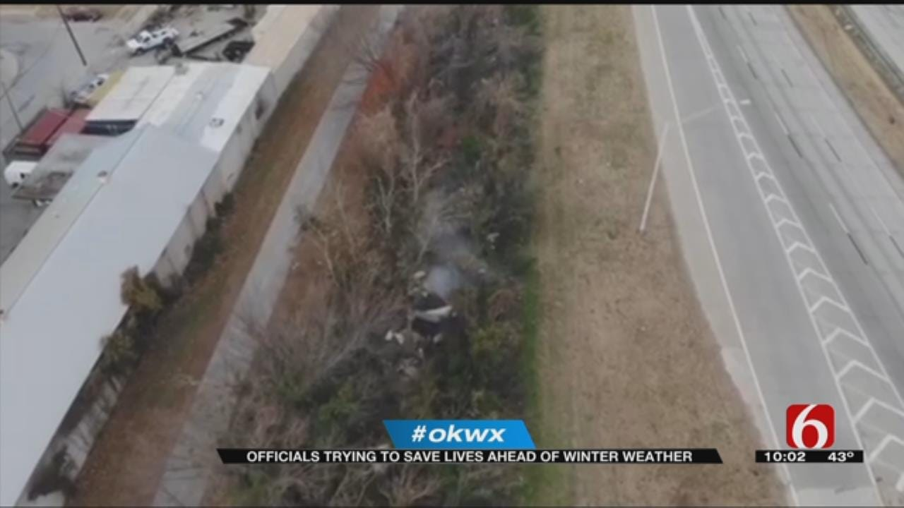Tulsa First Responders Helping Vulnerable Groups Prep For Winter Weather