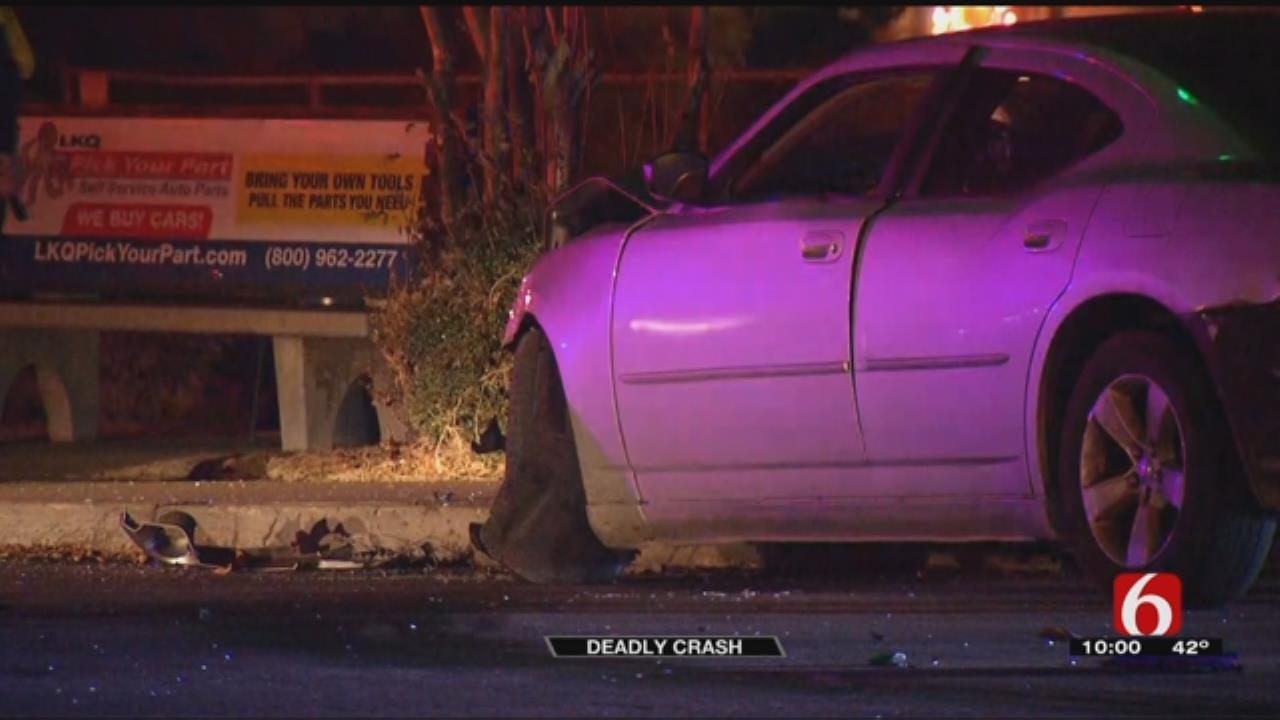 Tulsa Police Investigating Fatal Crash