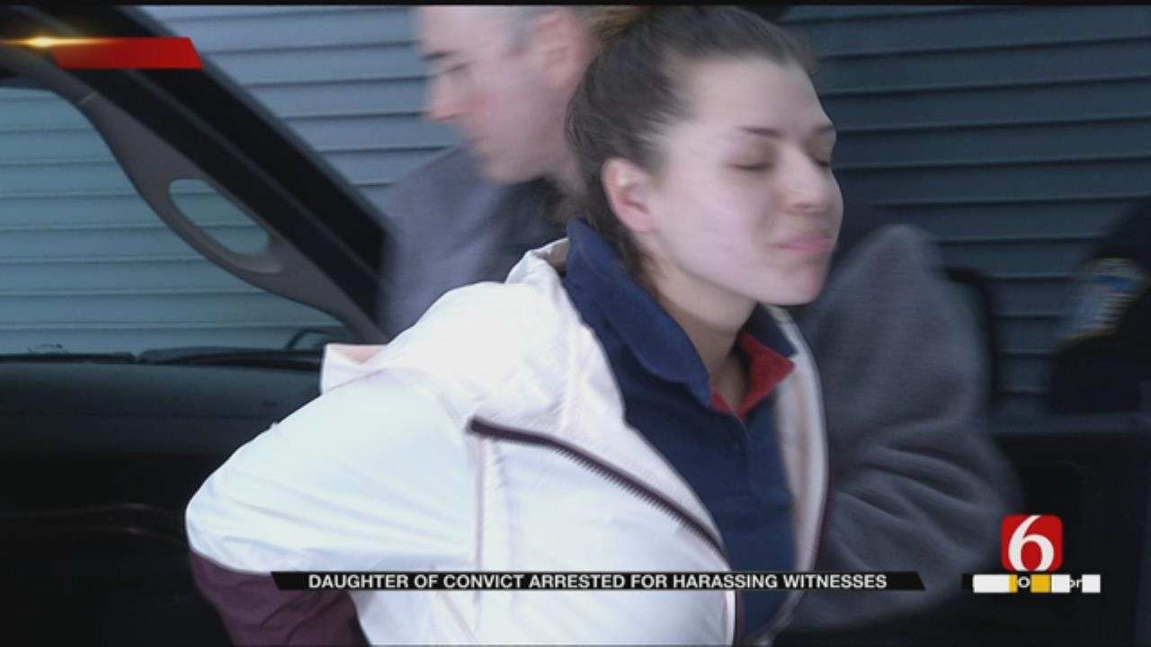 Daughter Of Convicted Woman Arrested For Threatening Victim's Family