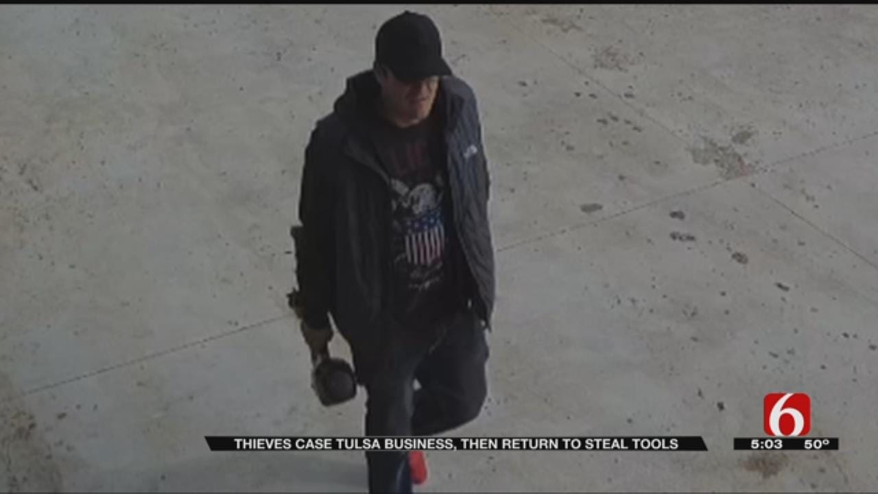 Tulsa Business Owner Catches Thieves On Camera