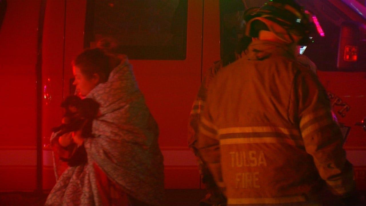 Couple, Six Dogs Escape Tulsa House Fire