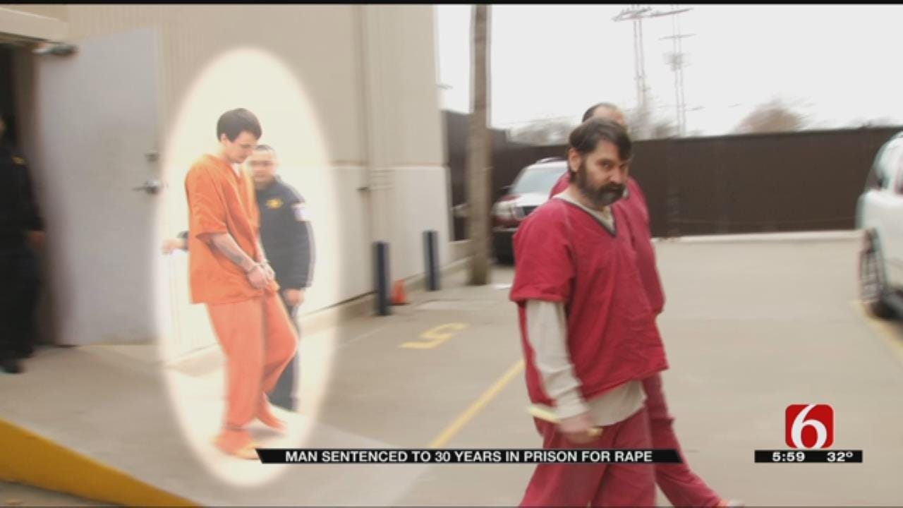 Man Sentenced To 30 Years For Raping Claremore Woman