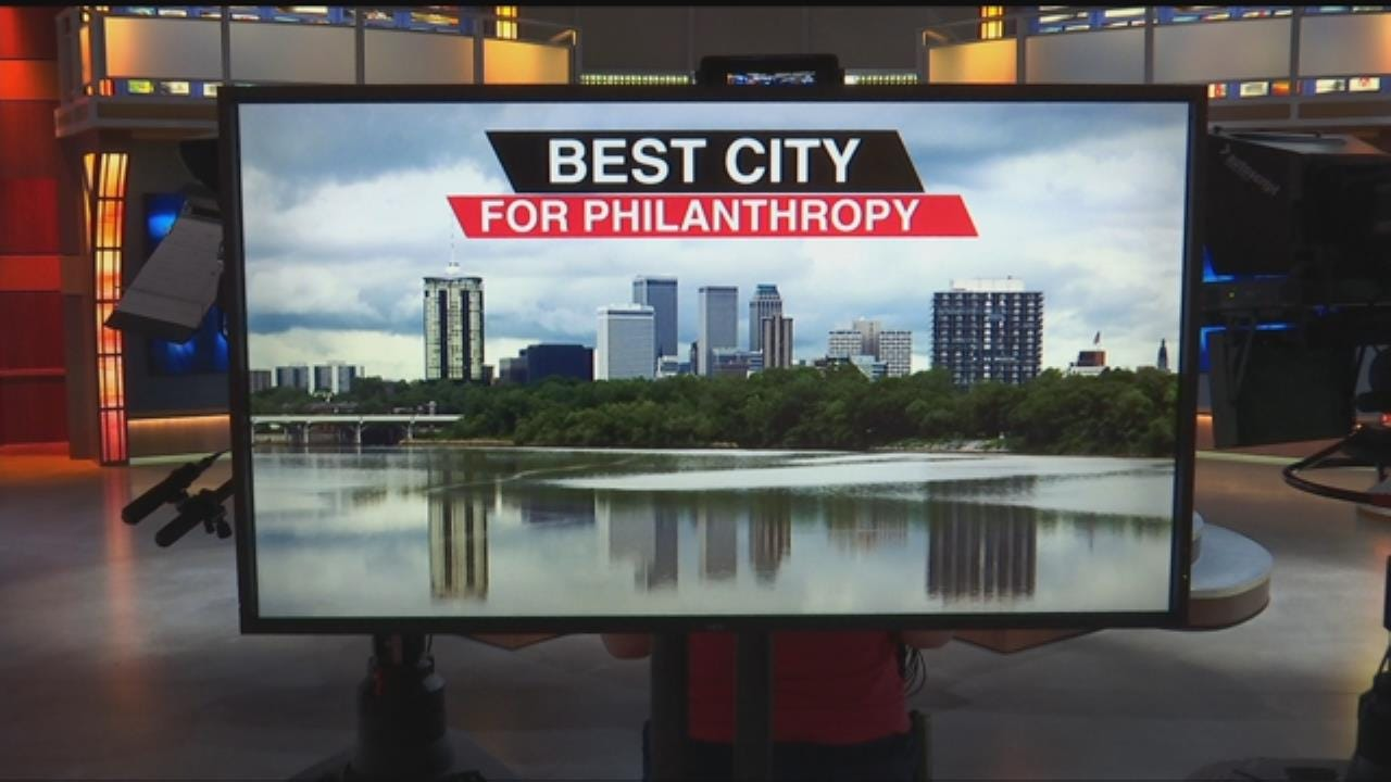 """Tulsa Named """"Best City For Philanthropy"""" By Non-Profit Magazine Readers"""