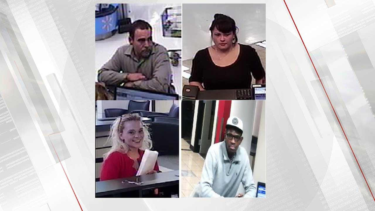 Tulsa Police Looking For 4 Suspects Linked To 17 Fraud Cases