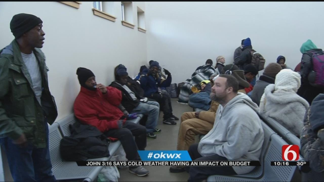 Cold Weather, Growing Need Puts Strain On John 3:16 Shelter