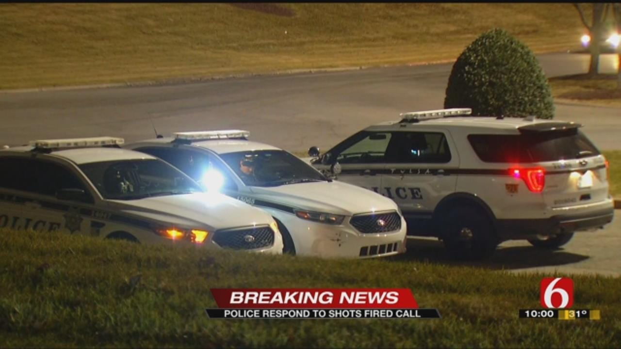 Tulsa Police Respond To Shots Fired Outside Woodland Hills Mall
