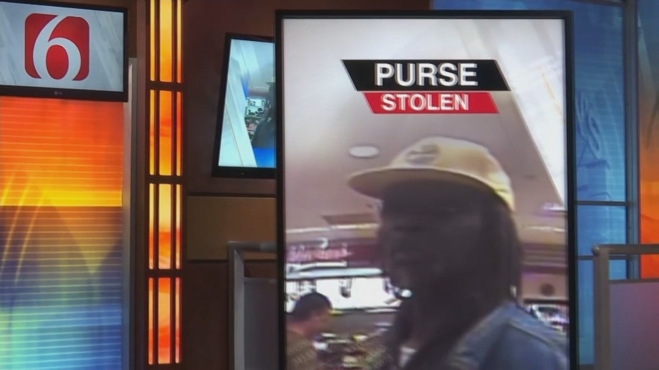 Tulsa Police Need Help Finding Purse Thief
