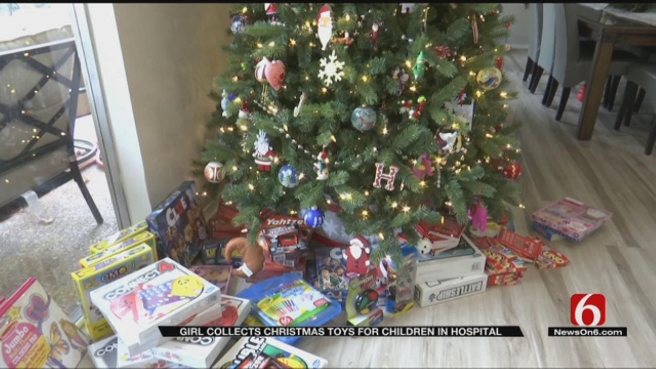 A Tulsa Girl Is Collecting Presents For Children In The Hospital