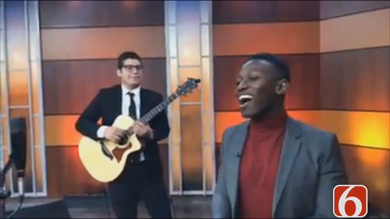 Brian Nhira Of The Voice Sings Excerpt Of 'Mary Did You Know'