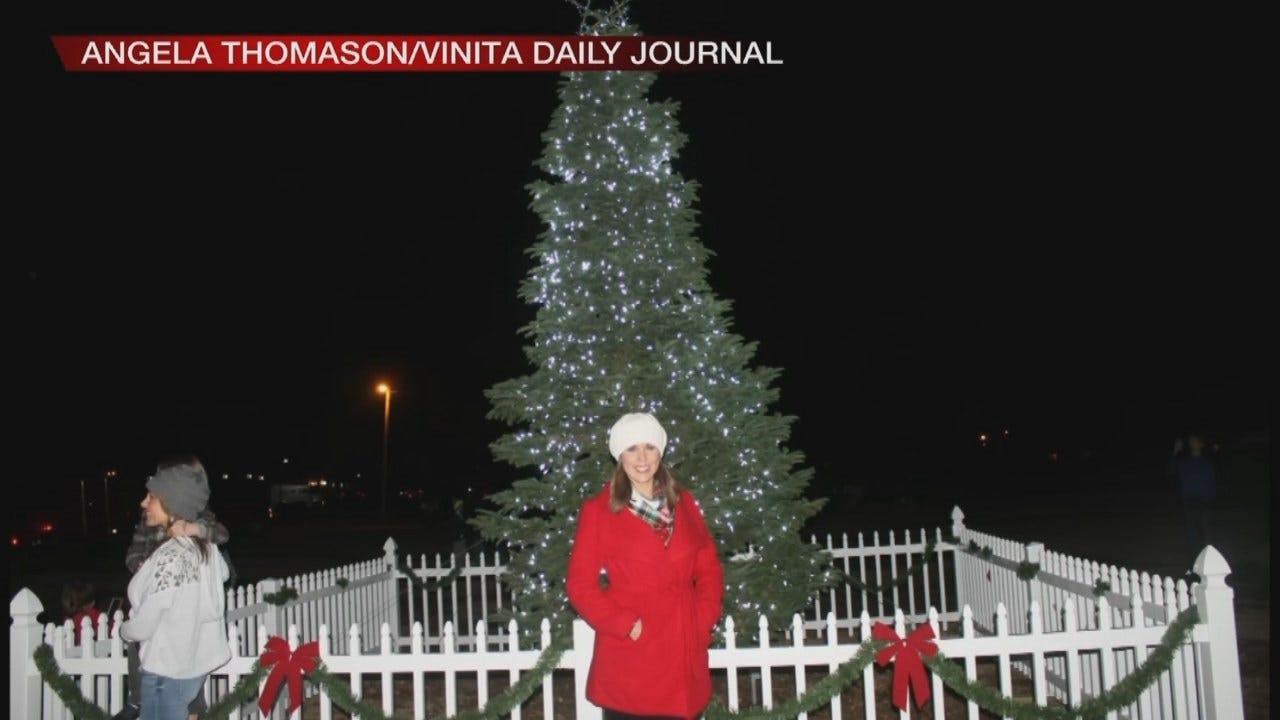 Tess Maune Helps Celebrate Christmas In Vinita
