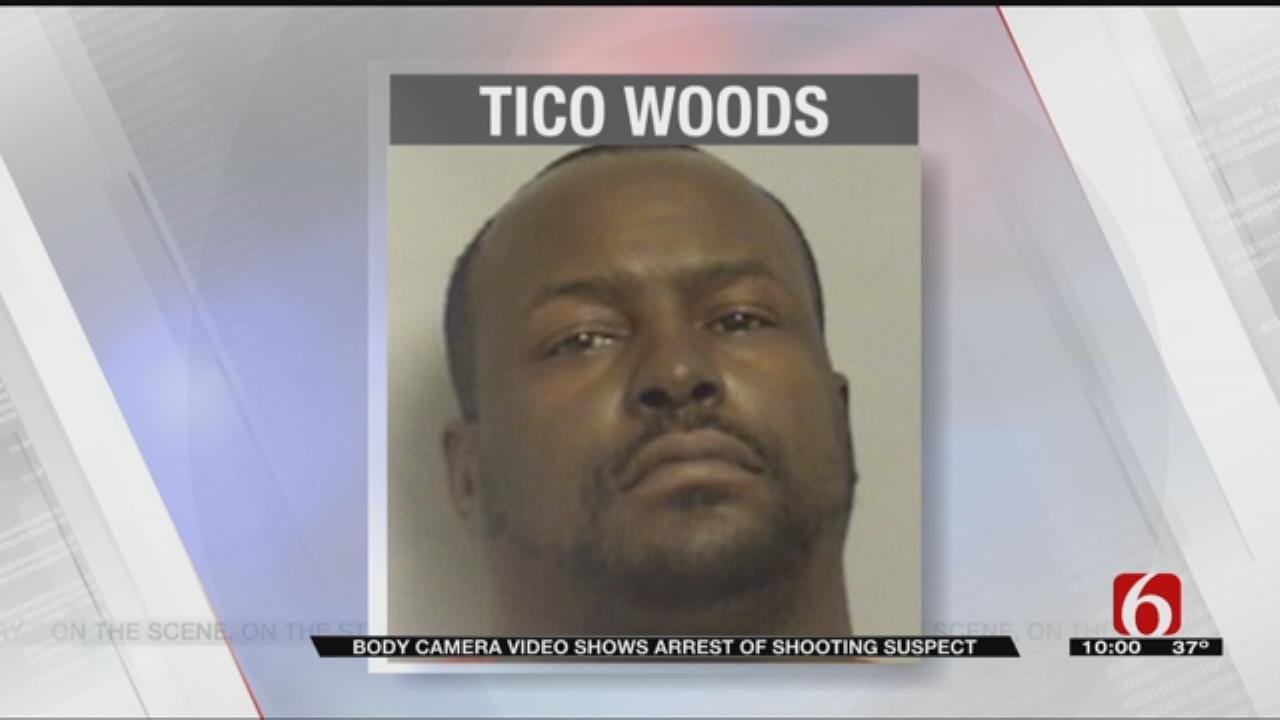 Police Release Body Cam Video Of Arrest Of Tulsa Shooting Suspect