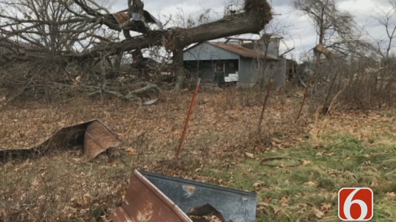 Community of Tailhoit Working To Clean Up After Storms