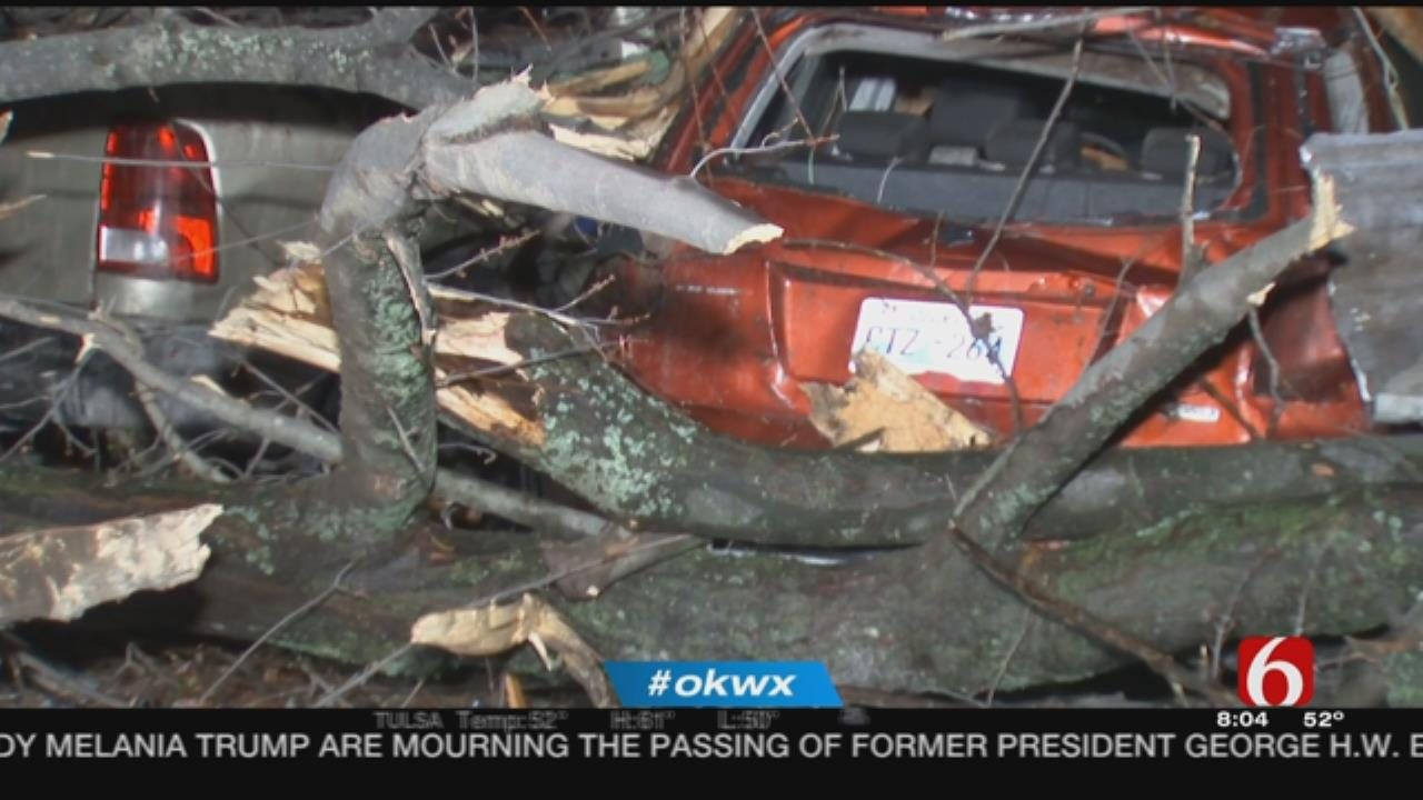 Oklahomans Reporting Damage After Confirmed Tornado Touches Down