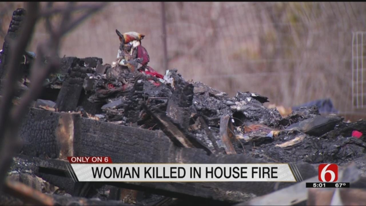 Fort Gibson Woman Killed In Fire, Toddler Survives