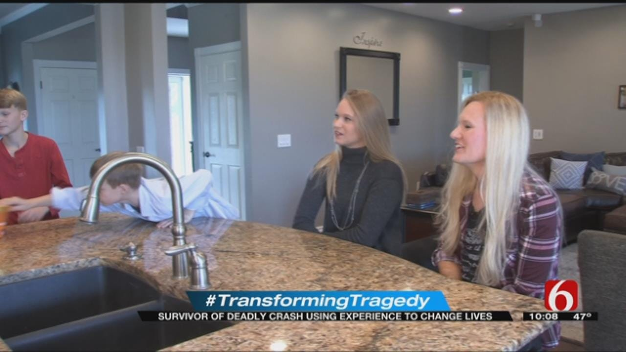 Oklahoma Woman Writes Powerful Book About 'Transforming Tragedy'