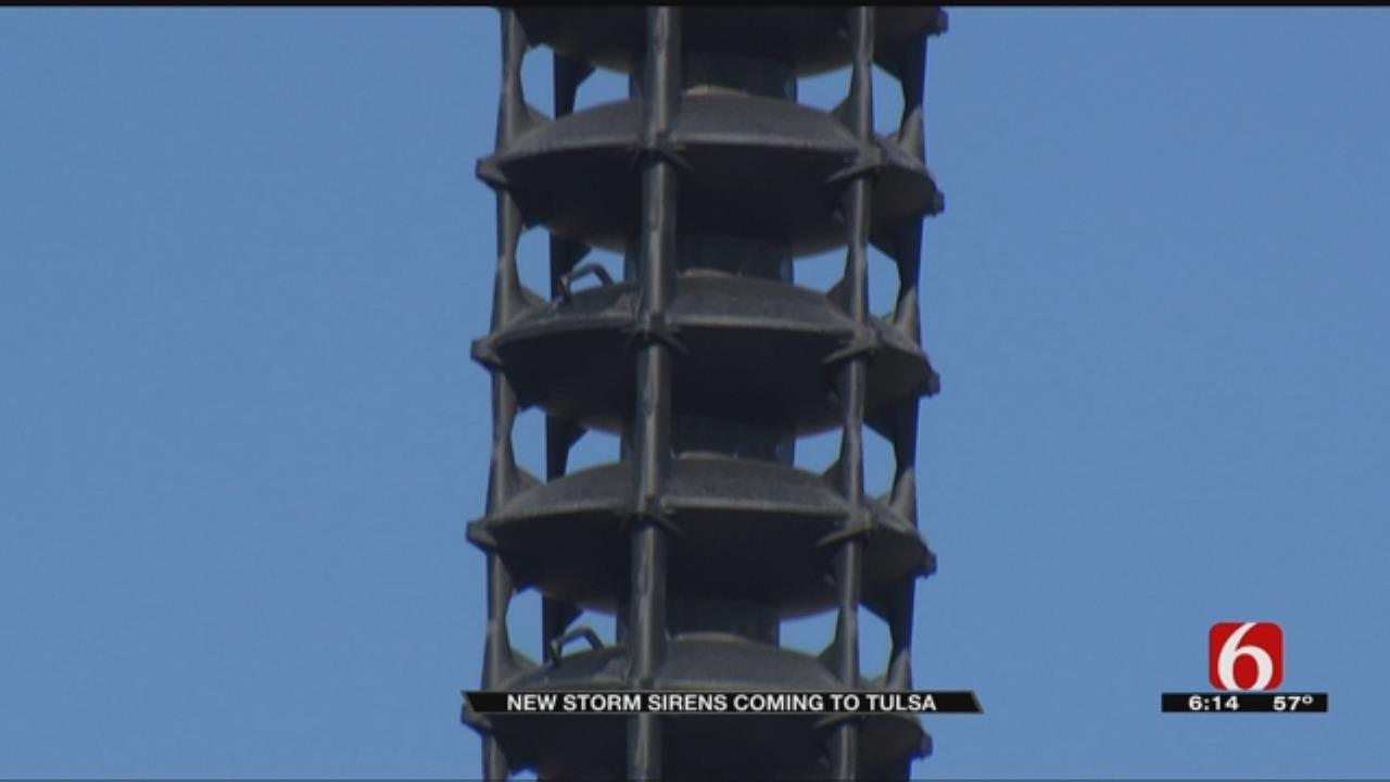 Tulsa County Installing 4 New Storm Sirens