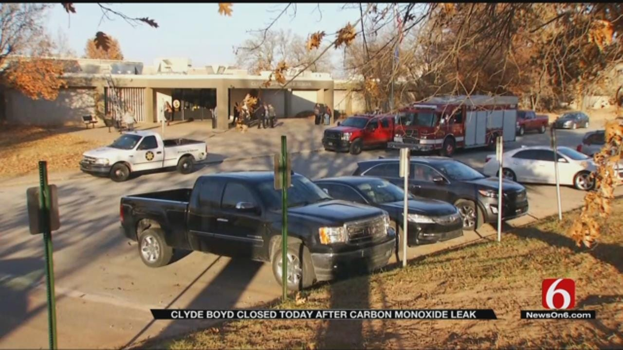 Sand Springs Middle School Still Closed After Carbon Monoxide Leak