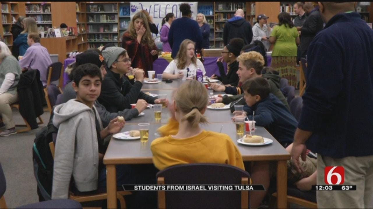 Students From Israel Visit Tulsa